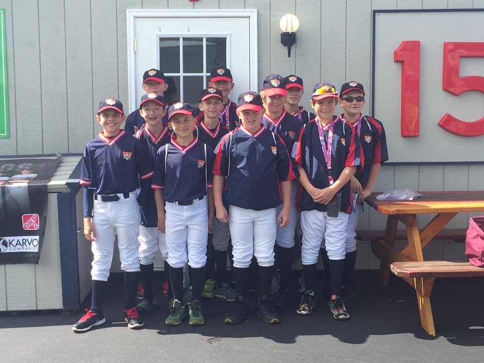 2017 12U Stow Bulldogs at Cooperstown Dreams Park